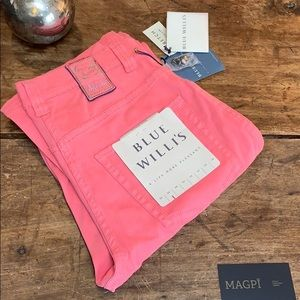 NWT Blue Willi's Soft Pink Stretch Jeans